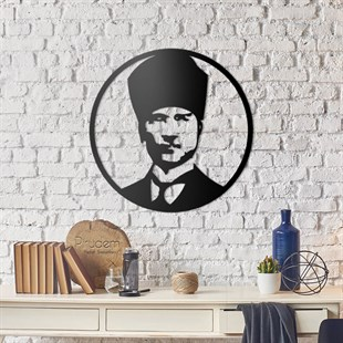 Atatürk Metal Wall Art
