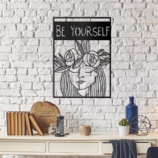 Be Yourself Metal Wall Art