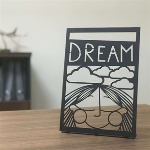 Dream POD Metal Decor