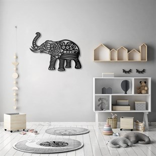 Elephant Metal Wall Art