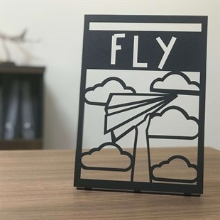 Fly POD Metal Decor