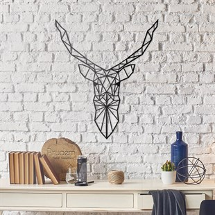 Geyik Metal Wall Art