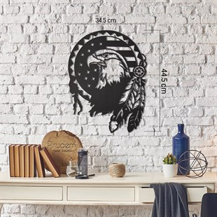 Hawk Eye Metal Tablo Metal Wall Art by Pirudem Metal Arts - Metal Wall Arts & Clocks & Decors