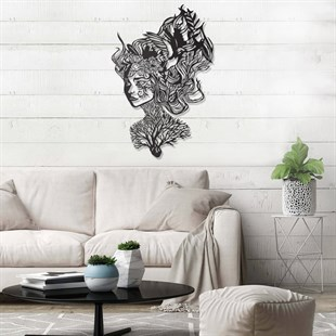 Heart Of Beauty Metal Wall Art