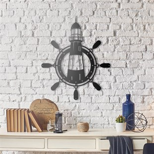 Light House Metal Wall Art