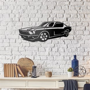 Mustang Metal Wall Art