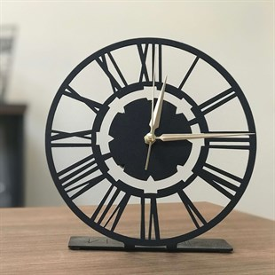 Net POD Metal Clock