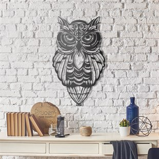 Owl Metal Tablo