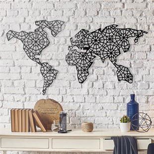 The World Is Mine Metal Wall Art